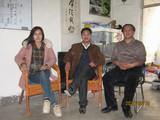 广东高级风水师何美月女士和济南易经协会会长奇门大师黄天麟一起